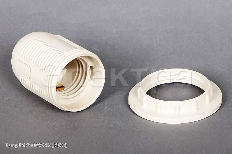 Lamp holder E27 G08 (RING)